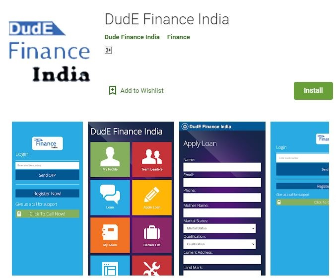 DudE Finance India