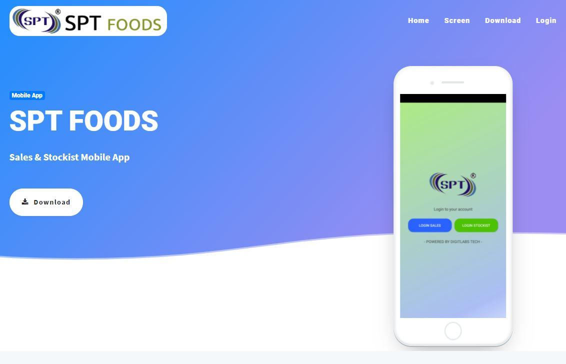 SPT FOODS (Sales & Stockist Mobile App)